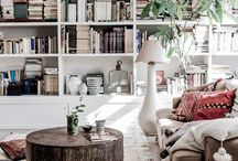 Cozy Bohemian Design Ideas / Bohemian style often resembles some cool Eastern interiors.