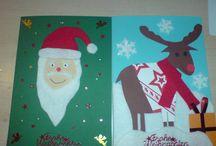 Weihnachtskarten / Hier findest du meinen DaWanda-Shop, auf welchem ich die gepinnten Weihnachtskarten verkaufen: http://de.dawanda.com/shop/karamellkastanie
