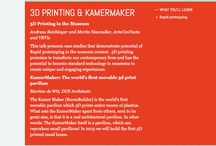 3D Printing in Museums / Pinterest Board for MuseumNext Conference in Amsterdam: http://www.museumnext.org/schedule