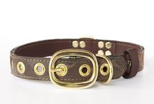 """The Camo Collection / It doesn't get much cooler than a collar from our Camo Collection. We promise these crazy unique collars will give you and your pup attention wherever you go. Featuring the leather from reclaimed cowboy boots, brass plated hardware, laser etched details, hand painted edges, and custom stitching. Each dog collar comes with a genuine, brass plated Boots & Arrow tag."""""""