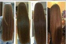 Hair grew