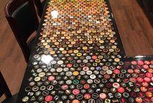 stół kapsle