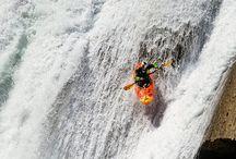 whitewater kayak/riverboard.