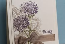 "Stampin' Up! "" Hello Doily"