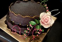 My flower cakes
