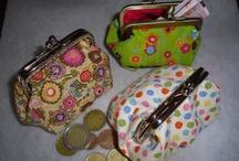 Julianas made with love / fabrics purse, handmade