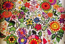 Esrarengiz bahçem  / Büyükler için boyama, antistres, hobi