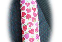Childrens seatbelt pads