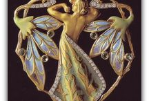 Jewelry / Victorian    art nouveau