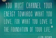 Inspiration worth Sharing / Quotes that ooze positive energy! :) / by Pine Ridge Inn