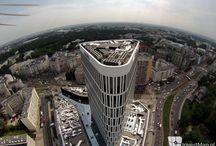 Lot nad Warszawą / Zachwycające zdjęcia znalezione na stronie InvestMap.pl oraz w sieci