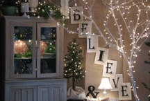 Christmas I love / Ideas for Christmas time: decorations, DIY, lights, food...etc