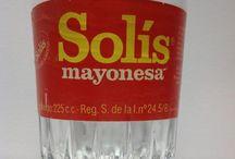 Antiguos frascos de Mayonesa Ybarra.