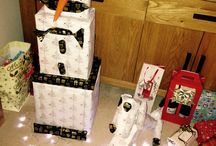 Christmas Wrapping! Snowman & Snowdog / Christmas