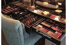 Skladovanie makeup produktov