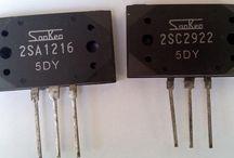 2sc2922-2sa1216 5dy  Transistor Sanken Original [ Sepasang ]