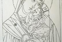 Christianity Coloring Book / Křesťanské omalovánky