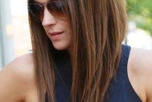 Rambut bob panjang