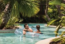 Adventures on Explorer Island! / Discover 5-acres of fun on Explorer Island! From the Lazy River, Explorer Pool, Splash Zone and two water slides, the options are endless for kids and kids at heart to enjoy.