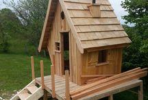 Poulailler cabane