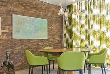 Sala de jantar / Área dedicada as salas de jantar.
