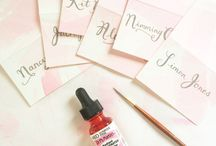 Wolf Whistle - Behind the Scenes / Behind the scenes at a bespoke stationery studio / by Wolf Whistle - Illustrated Wedding Stationery