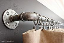 Curtain railing ideas