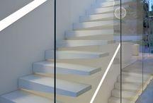 Escaleras / Escalera cristal