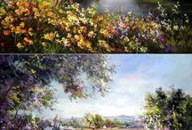 colorful landscapes