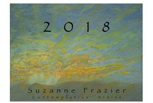 2018 Art Calendar by Suzanne Frazier / This year, the 2018 Art Calendar features 12 paintings  I created this past summer. Take a look. You can order the calendar on Suzanne's website:  http://www.suzannefrazier.com/Calendars/2018-calendar.html