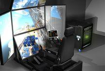 Vortex Simulator Platforms / Vortex simulators help train operators for a wide variety of vehicles and heavy equipment, including tower cranes, port cranes, excavators, land vehicles, ROVs, and much more.