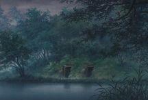 Anime background's / Годнота - хоть на обои, хоть на стену, хоть в новеллы, хоть куда.