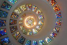 домики стекло
