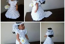 """18"""" Crochet Doll Clothes Patterns / Doll crochet patterns, all written in US terminology for the 18"""" dolls. Boy and girl patterns."""