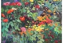 The Secret Garden / Inspired by the RHS Chelsea Flower Show, we have pinned some of our favourite artworks inspired by gardens