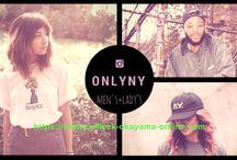ONLYNYがonfleek okayamaにて取り扱い決定!  そして、  入荷してます。  オンラインショップにてご覧いただけます。