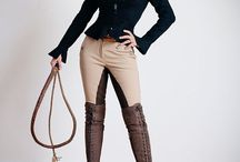 Leather equistrian