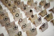 Steampunk Wedding Decor