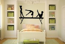 Bedroom - gymnast