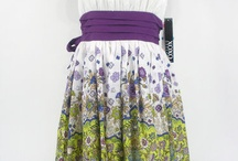 GT Dresses / Theme: Vintage chic, knee length in floral pattern, small or large with primarily purple colors and white (lighter tones)  August 2013 Gwen & Tim's Wedding / by Juanita Brinkerhoff