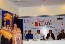 Take the Lead Ranchi 2013 / XISS in association with kolkata institute iLEAD organised Take the Lead 2013
