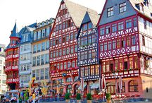 Frankfurt, Hanover, Heidelberg, Germany! I have been there before...