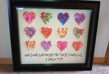 Rainbow Auction Class Gifts / by Katie Gould-Welch