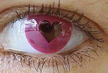 ojos en el día de los enamorados