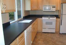 cozinhas completas com geladeira e fogão