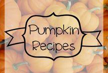 Podzimní recepty
