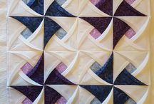 Pinwheel surprise Quilt Block Origanmi