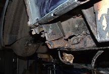 Echte auto's, Klassiekers & Restauratie / Reatauratie van Mercedes w114 /8 coupe cabriolet