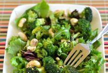 zdravé zeleninové šaláty