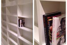 Custom build bookcase